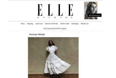 Anyango Mpinga on ELLE Denmark- PRESS