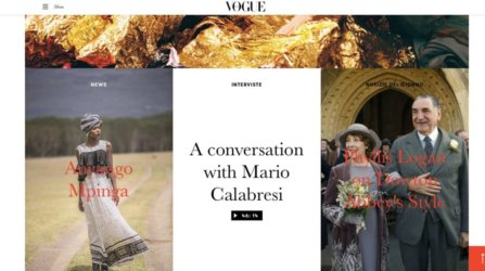 Italian Vogue Cover Proverbial Dreamer
