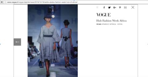 Media Feature Vogue Hub