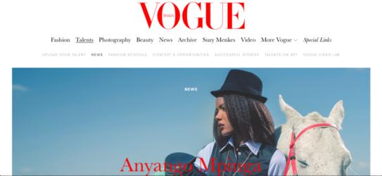 Vogue News Cover